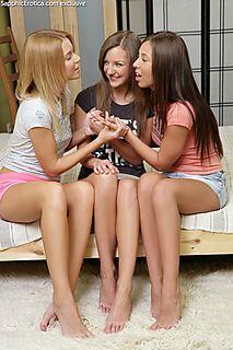 Playful Trio pic #3