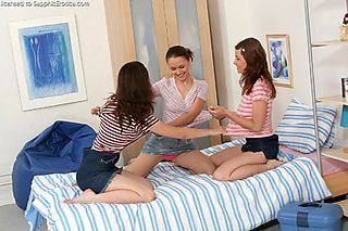 Playful Threesome pic #3