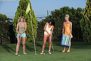 Orgasmic Golfers pic #1