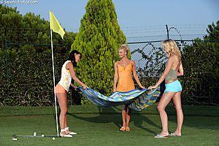 Orgasmic Golfers pic #2