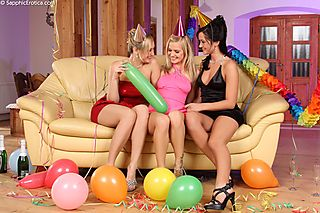 Festive Threesome pic #1