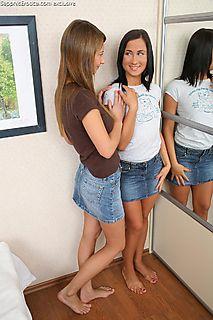 Brunette Seduced pic #4