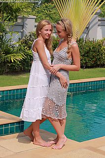 Poolside Seduction pic #3